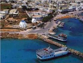 Antiparos harbour